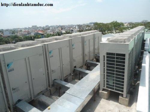 Bảo trì máy lạnh tại KCN Tân Bình