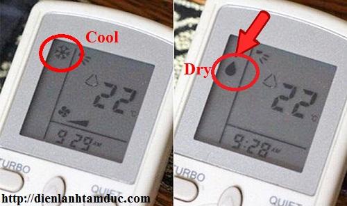 Chế độ DRY của máy lạnh hoạt động như thế nào