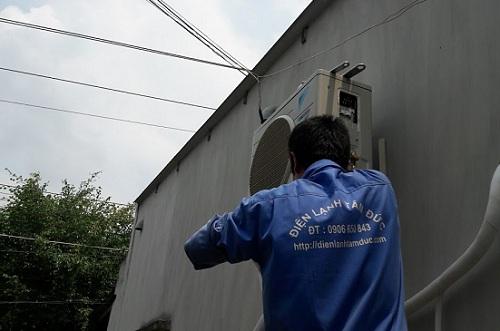 Lắp đặt máy lạnh huyện Củ Chi