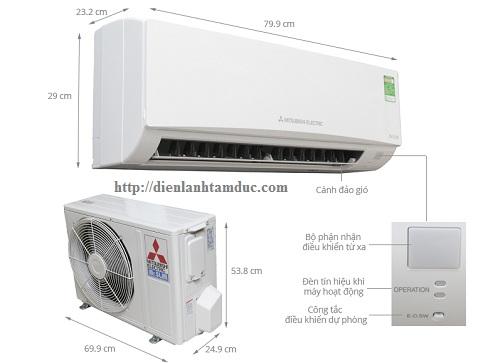 Bảng mã lỗi của dòng máy lạnh Mitsubishi Electric