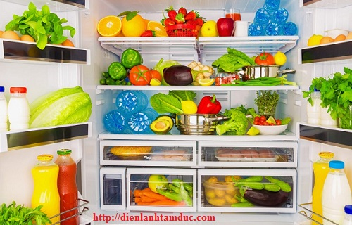 Nguyên nhân thực phẩm trong tủ lạnh  thường bị hư hỏng vào mùa nắng