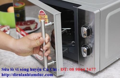 Sửa lò vi sóng huyện Củ Chi