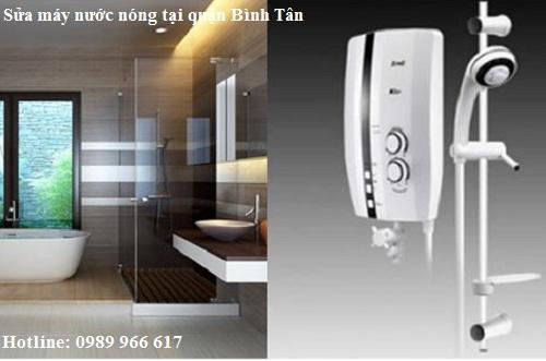 Sửa máy nước nóng quận Bình Tân