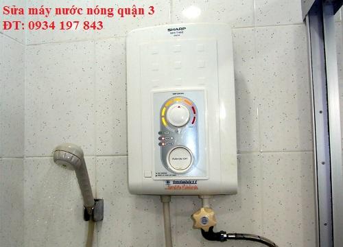 Sửa máy nước nóng quận 3