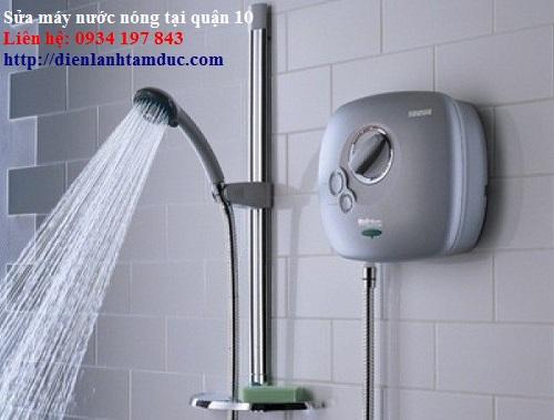 Sửa máy nước nóng quận 10