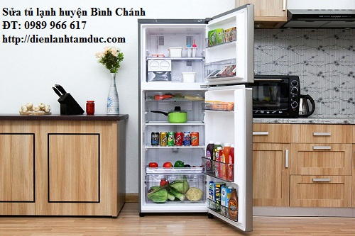 Sửa tủ lạnh huyện Bình Chánh