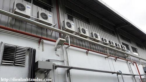 Vệ sinh máy lạnh huyện Củ Chi