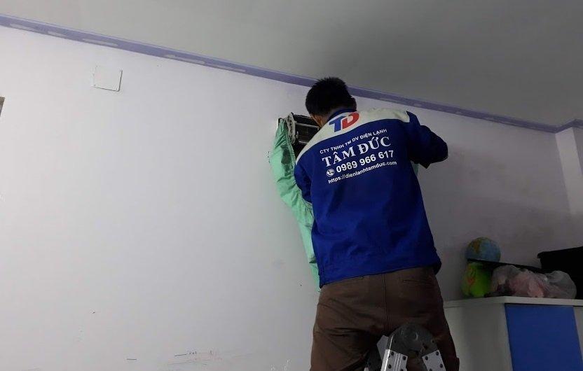 Lắp đặt, sửa chữa, bảo trì máy lạnh tại TP. Dĩ An, Bình Dương
