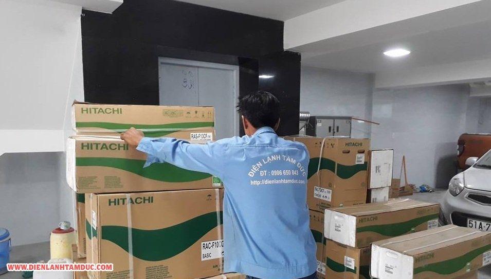 Lắp máy lạnh quận Tân Bình