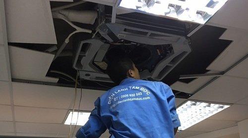 Sửa máy lạnh quận Bình Tân